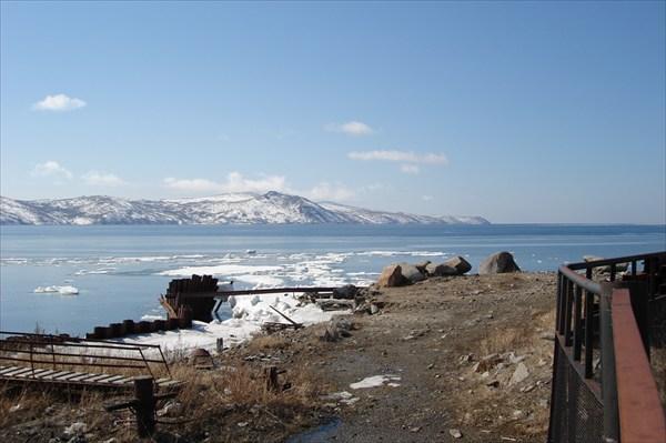 на фото: Бухта Нагаева