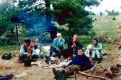 Лагерь команды Трощенко