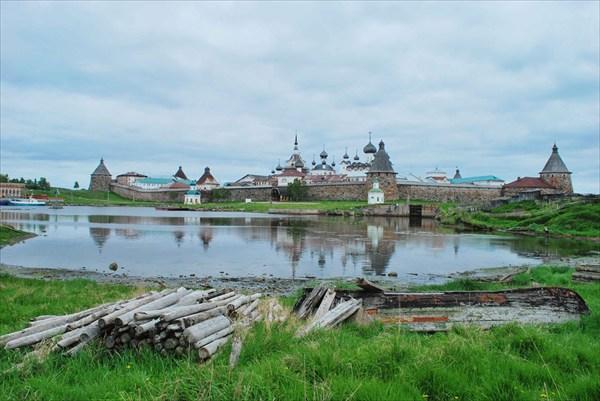 Вид на Кремль с Сельдяного мыса