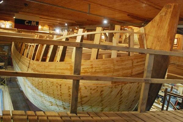 Стоительство  модели яхты Петра 1-го
