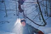 обычное кол-во снега на Алеке в феврале