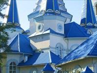 """Фасад храма-Церковь иконы Божией матери """"Умиление"""""""