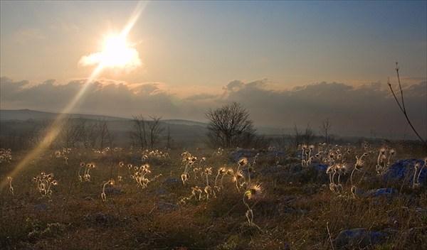 DSC_0603 Закат на плато.