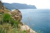 Балаклава, вид на открытое море и бухточки
