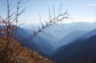 Вид на тагинскую долину