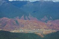 Вид на Мечуку с перевала