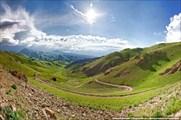 Вид с перевала Чильбель