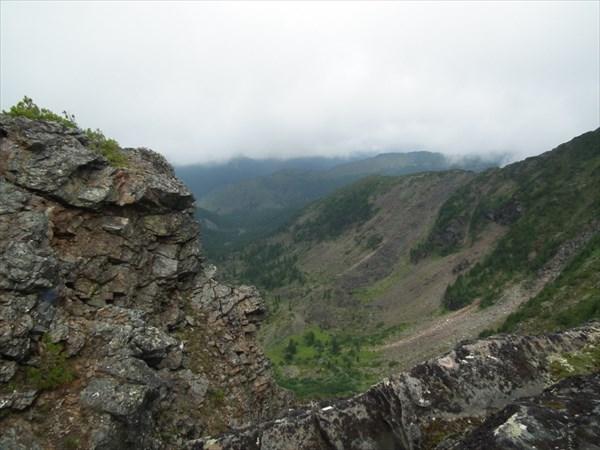 Вид в долину от жандарма