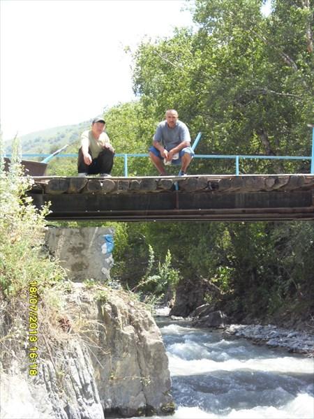 Мост в Кулданбес