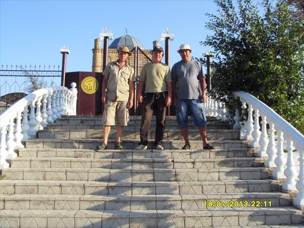 Захоронение  батыра Курманбека