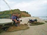 Пляж с.Лебедевки