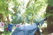Наш лагерь в ущелье