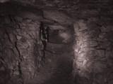 Типичный штрек в каменоломнях.