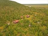 Брошенная база в устье реки Биректе