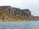 Скалы на устье Укябиль-Юряге.