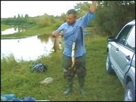 рыбалка на реке шиш на севере омской области. (c) сергей  ткалун