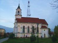 Здание костела-Костел святого Роха