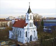 Вид сверху-Костел святого Роха