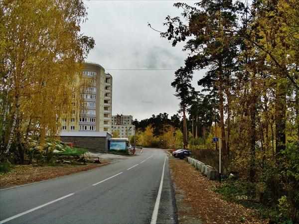 Дорога к санаторию.
