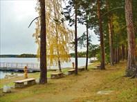 Осень 2009г. Озёра Кисегач и Теренкуль.