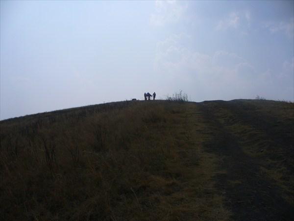 беседка на горе)