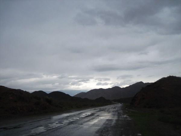 Дорога к г.Балыкчы