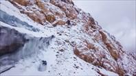 Выход с полки на ледник