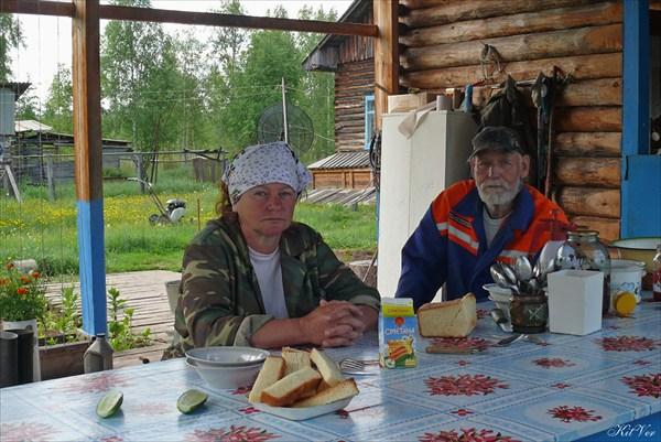 Работники метеостанции супруги Лейсман