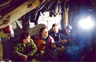 Экспедиция на хр.Алек (Сочинский р-он, 02.1999), рук. Корочкин.