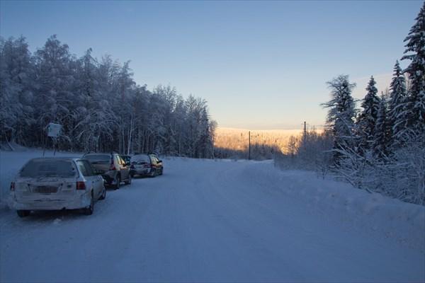 Дорога Шумихинский-Юбилейный, напротив - Сухой Лог.