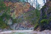 Каньон ниже водопада