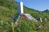 Обелиск на могиле Григория Федосеева