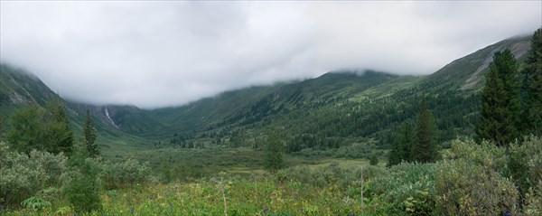 Верховья долины Малой Кишты