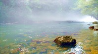 Утренний туман над рекой Мчишта