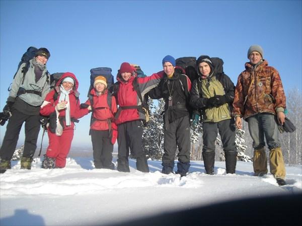 на горе Улантовой