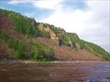 Олёкма перед притоком Олдонгдо