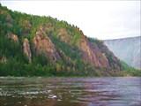 Олёкма перед притоком Тунгурчакан