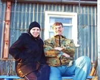 Иван Рябов с женой Мариной