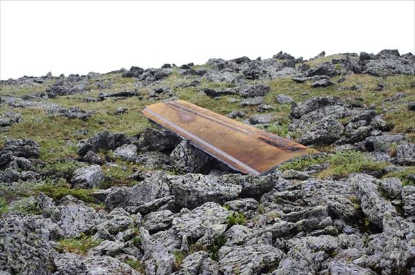 Космический мусор на перевале