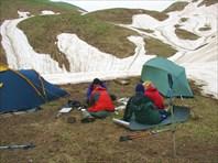 Поисковая экспедиции в Абхазии в районе Бзыбского хребта