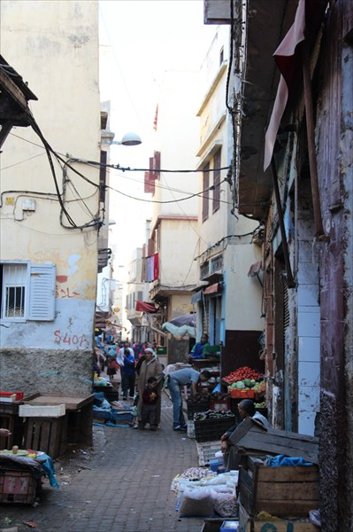 Базар Старой Медины в Касабланке