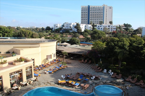 Бассейн в отеле Odyssee Park Hotel в Агадире