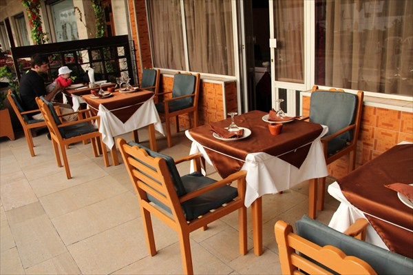 Ресторанчик в Агадире (в низский сезон)