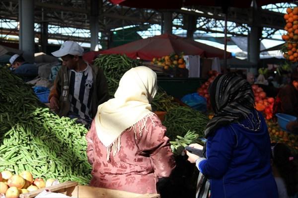 Торговля на рынке Агадира
