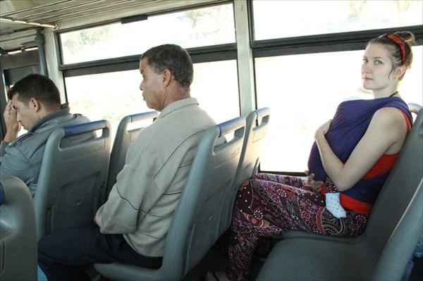 Городской автобус до агадирского пригорода - Тагазута