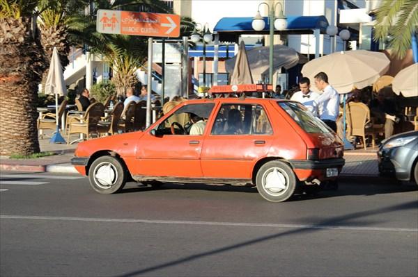 Petit taxi в Агадире