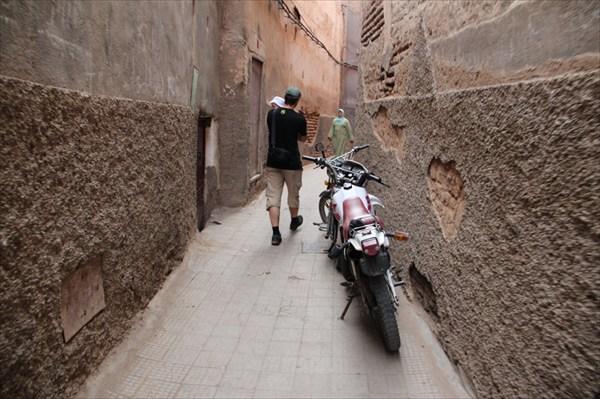 В стороне от туристических троп в Медине Марркаша