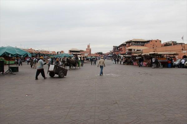 Главная площадь Марракеша