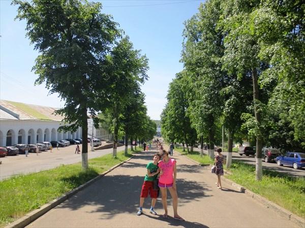 Молочная гора, Кострома