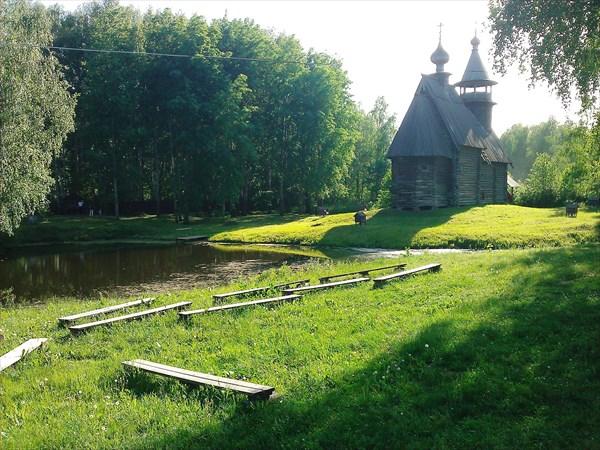 Церковь Всемилостливого Спаса из села Фоминское
